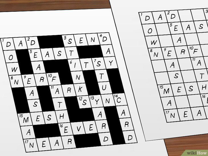 gambar berjudul make crossword puzzles step 5