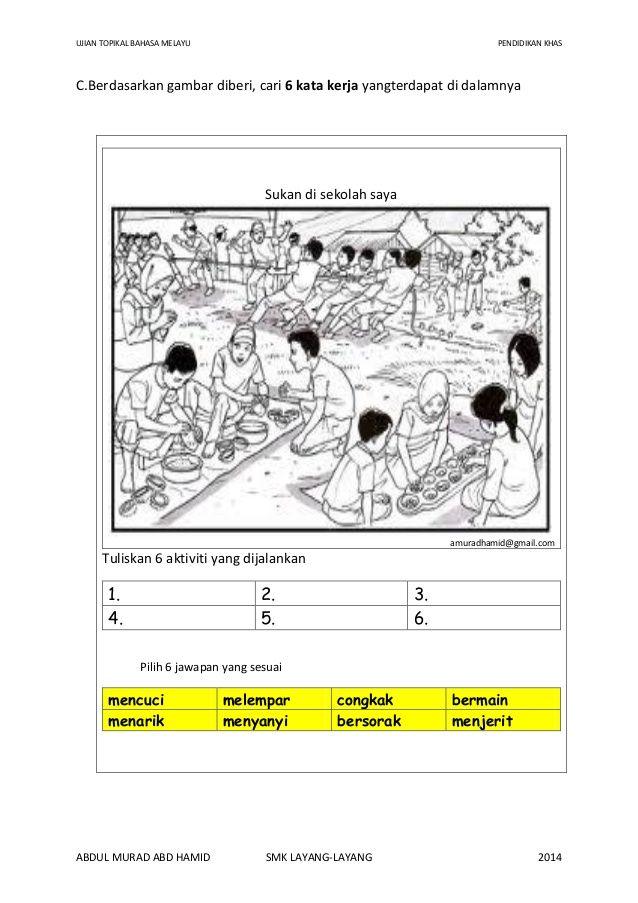 Teka Silang Kata Bahasa Melayu Peralihan Meletup Kata Kerja Bahasa Melayu Pendidikan Khas Oleh Abdul Murad Abd Hamid