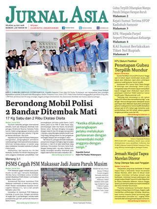 Teka Silang Kata Kelab Pengguna Power Harian Jurnal asia Edisi Selasa 24 Juli 2018 by Harian Jurnal asia