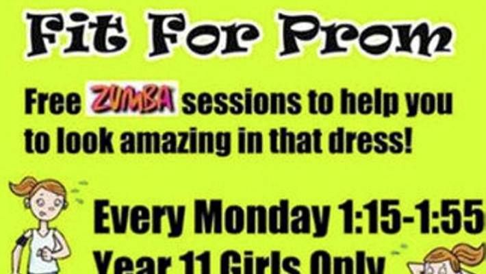 Zumba Poster Terhebat School Apologises for Zumba Poster Promising to Help Girls Get Fit