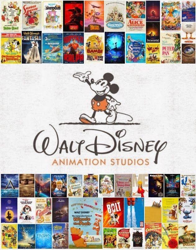 disney avenue all 54 walt disney animation movie posters