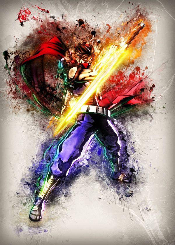 displate poster strider strider capcom manga anime animation comic cartoon cool art hero ninja warrior pop game gaming film filming movie