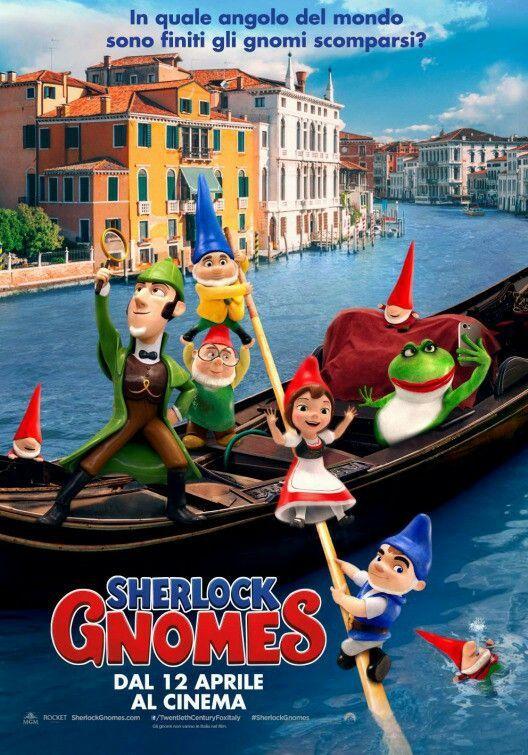 sherlock gnomes movie posters and artwork movieposters movietwit moviebuff moviereview movietalk