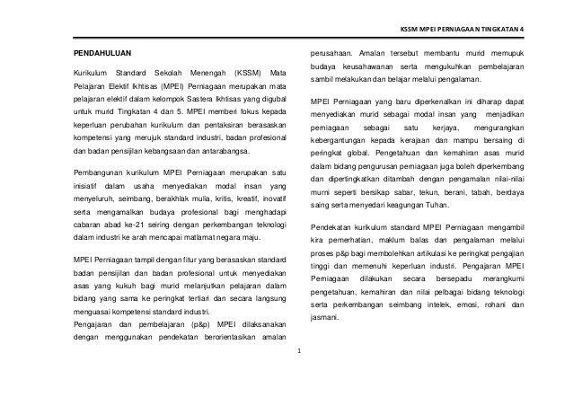 Download Dskp Kesusasteraan Melayu Tingkatan 4 Berguna Dskp Perniagaan