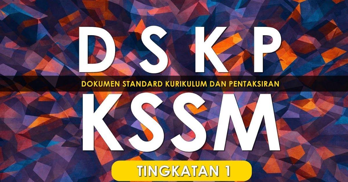 Download Dskp Kimia Biologi Tingkatan 4 Penting Dskp Dokumen Standard Kurikulum Dan Pentaksiran Kssm Tingkatan 1