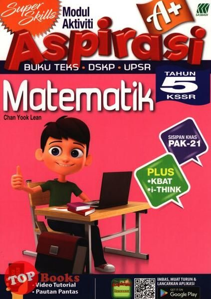 Download Dskp Matematik Tahun 5 Penting Sasbadi 18 Super Skills Modul Aktiviti aspirasi A Matematik Tahun 5