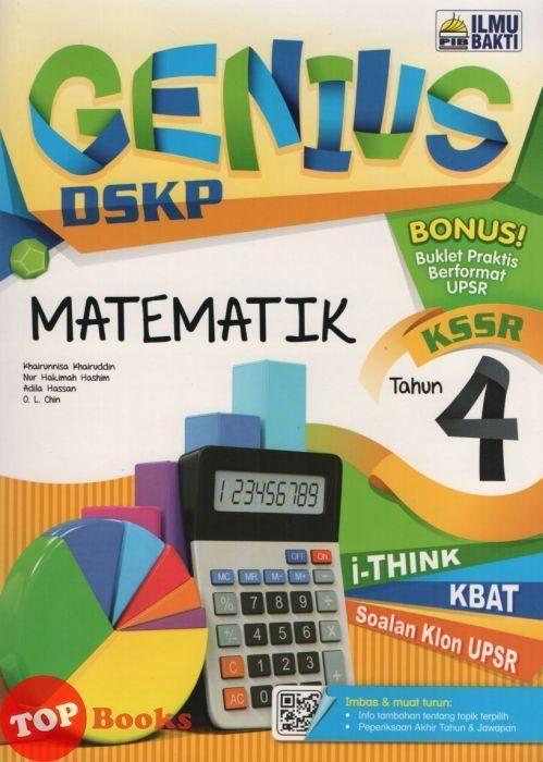 genius dskp matematik tahun 4