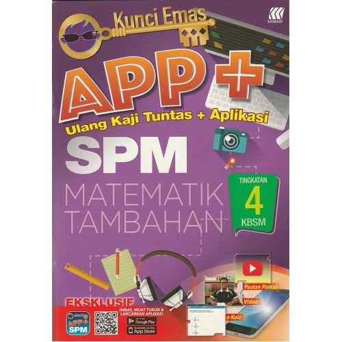 Download Dskp Matematik Tambahan Tingkatan 4 Power Kbsm Modul Kerja Rumah Matematik Tambahan Tingkatan 4 Shopee Malaysia