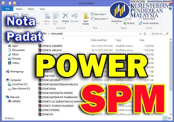 Download Dskp Matematik Tambahan Tingkatan 4 Power Nota Padat Power Spm Subjek Matematik Tambahan
