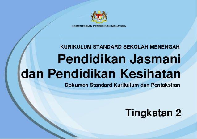 Download Dskp Pendidikan Jasmani Dan Kesihatan Tingkatan 1 Menarik Dskp Pjpk Tingkatan 2