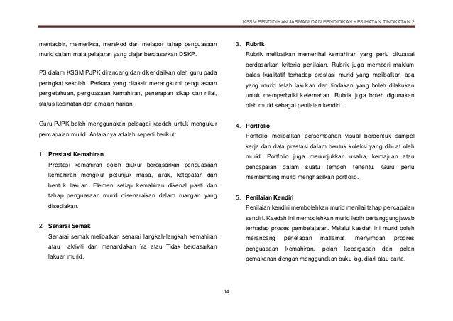 Download Dskp Pendidikan Jasmani Dan Kesihatan Tingkatan 4 Power Dskp Pjpk Tingkatan 2