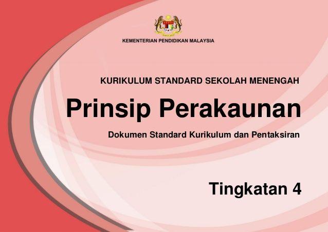 Download Dskp Prinsip Perakaunan Tingkatan 4 Bermanfaat Dskp Prinsip Perakaunan Kssm T4