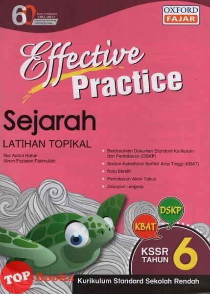 Download Dskp Sejarah Tahun 6 Baik Oxfordfajar18 Effective Practice Sejarah Tahun 6 topbooks Plt