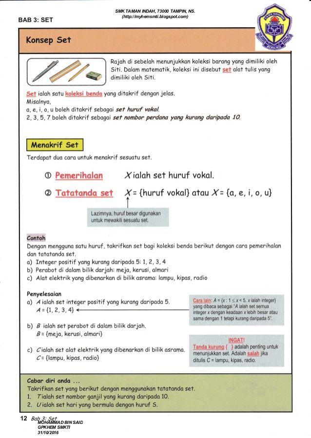himpunan kuiz matematik tingkatan 1 yang meletup dan boleh di cetakkan dengan segera