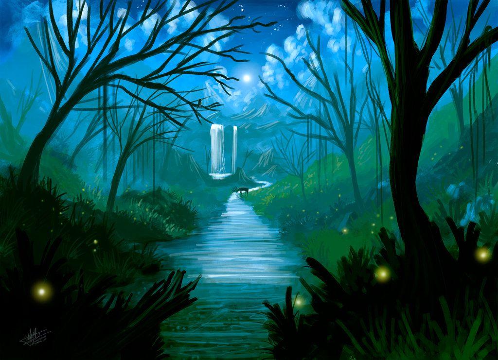 psv kertas 2 spm pemandangan sungai di dalam hutan