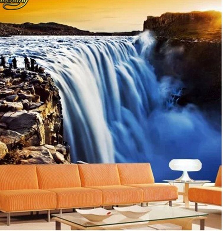 Lukisan Naruto 3d Di Kertas Meletup A Beibehang Dinding Kertas Photo Stereoscopic Wallpaper Kantor sofa
