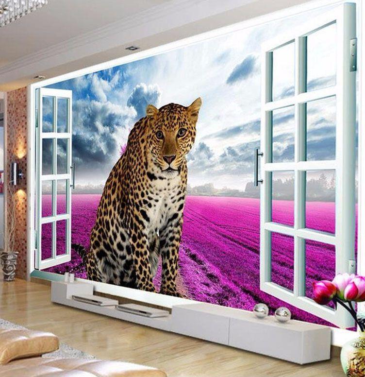 Lukisan Naruto 3d Di Kertas Power A I A I I Kustom 3d Foto Wallpaper Window Leopard Lavender Latar