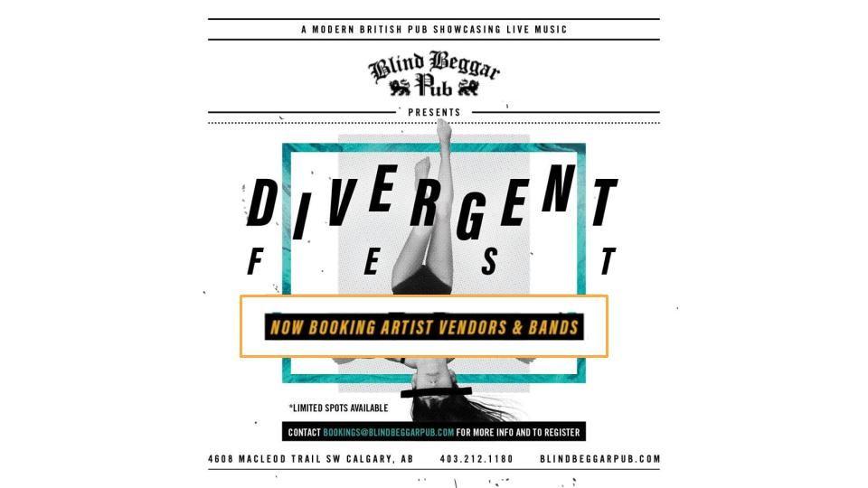 image promo divergent fest poster