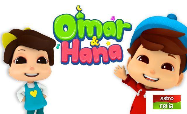 Omar Dan Hana Mewarna Hebat Muat Turun Segera Bermacam Contoh Gambar Mewarna Omar Dan Hana Yang