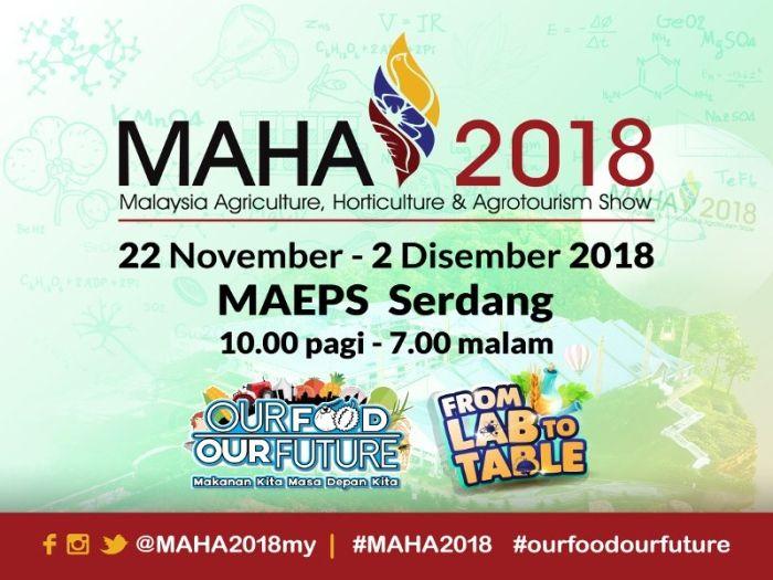 juta bagi pengunjung bertuah yang singgah ke pavilion mereka di pameran pertanian hortikultur dan agro pelancongan malaysia 2018 maha 2018 di sini