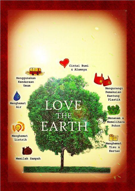 desain poster lingkungan yang begitu keren