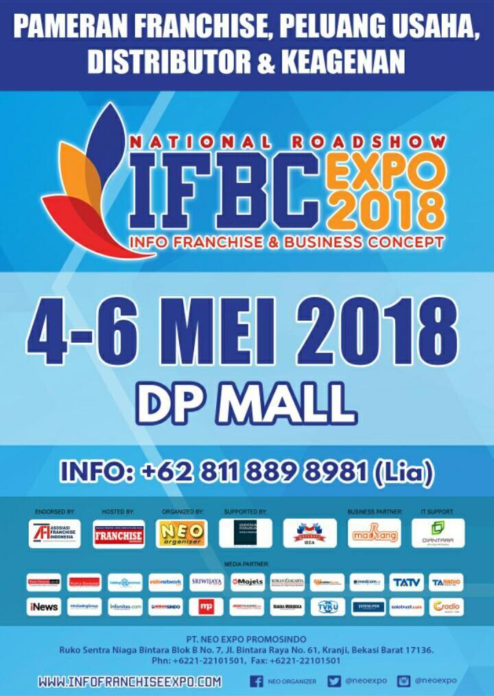 temukan ide kekinian dan solusi bisnis di pameran info franchise and business concept ifbc