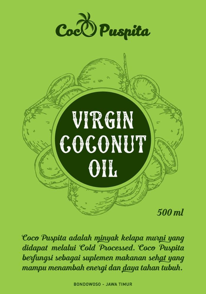 Poster Makanan Sehat Hebat Jual Vco 100 Ml Virgin Coconut Oil Amunisi Ketofastosis