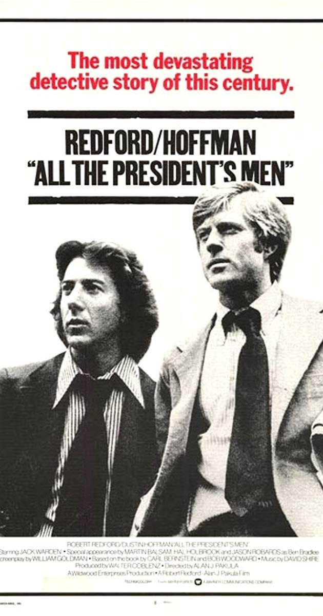 Poster Penghijauan Penting All the President S Men 1976 Imdb