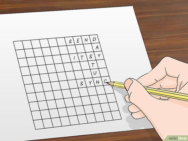 gambar berjudul make crossword puzzles step 3 gambar cara membuat teka teki silang