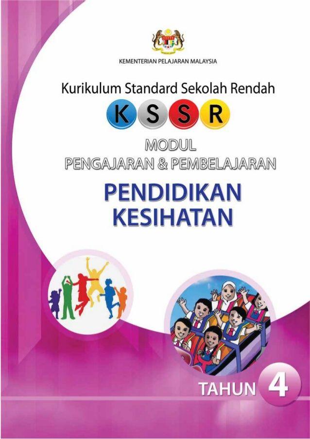 kementerian pelajaran malaysia kurikulum standard sekolah rendah modul pengajaran dan pembelajaran pendidikan kesihatan