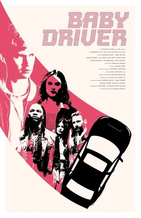 my baby driver poster now available at my shop https