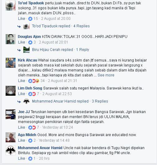 koleksi gambar pejuang s4s memboikot 31 ogos viral di media sosial
