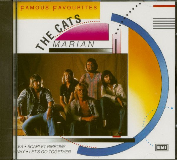 Cat Poster Terhebat the Cats Cd Marian Famous Favourites Cd Bear Family Records