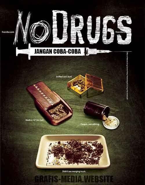 25 contoh poster narkoba dan slogan narkoba