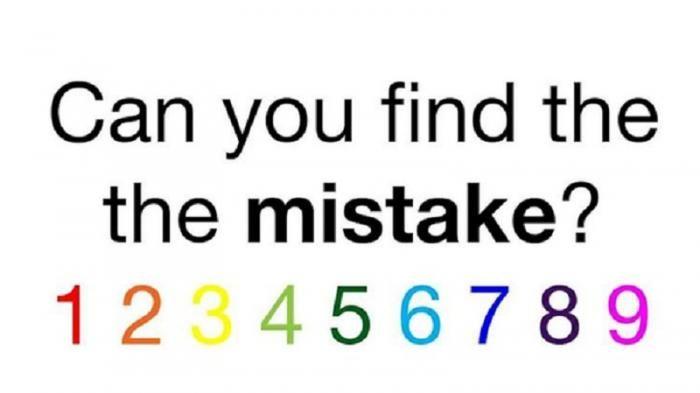 seberapa cepat anda menemukan kesalahan dalam gambar ini sebagian tak bisa menemukan dengan cepat
