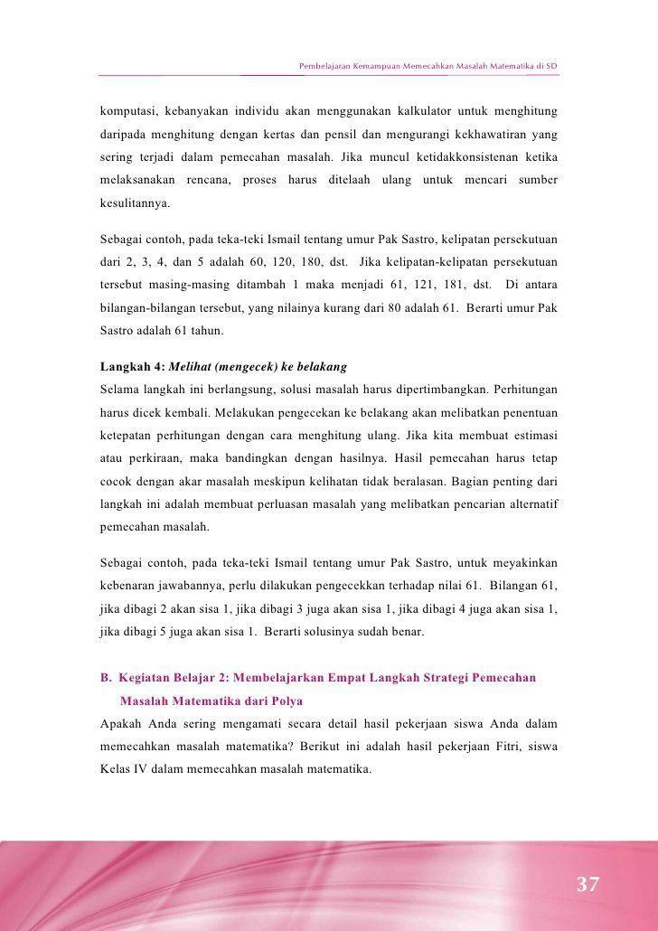 Contoh Teka Teki islam Yang Terbaik Untuk Para Ibubapa