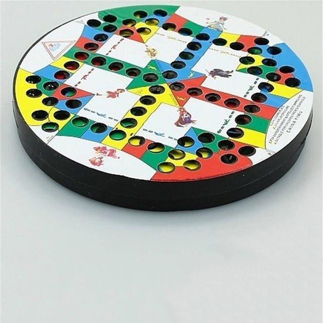 menyenangkan puzzle mainan anak hadiah anak anak chinese checkers papan catur pertempuran catur klasik kelereng
