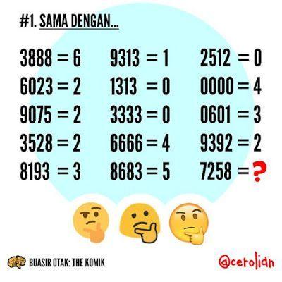 contoh teka teki matematik susah yang bernilai untuk para murid a download image