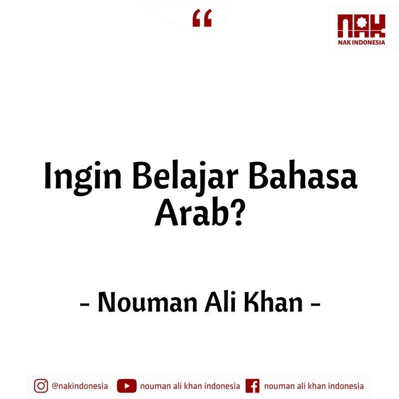 ingin belajar bahasa arab