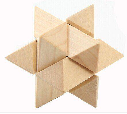 klasik 3d kayu bintang otak teaser saling duri teka teki untuk anak anak dan orang dewasa di teka teki dari mainan hobi aliexpress com alibaba group