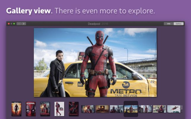 Deadpool Poster Penting Movie Explorer Im Mac App Store