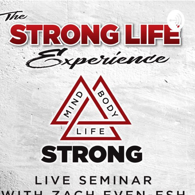 Desain Poster Seminar Hebat Strong Life Insider with Zach even Esh by Strong Life Insider with