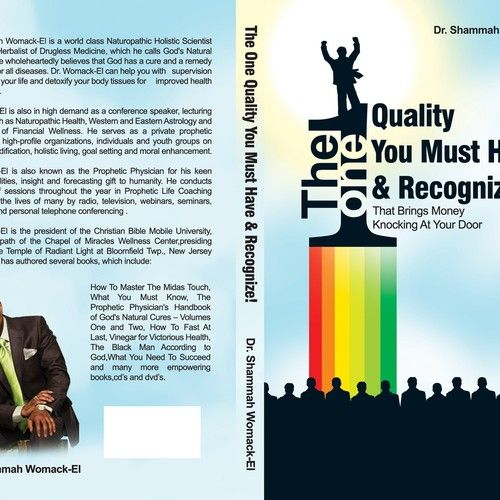 Desain Poster Seminar Power Wanted Bookcover Titled the One Quality You Must Have