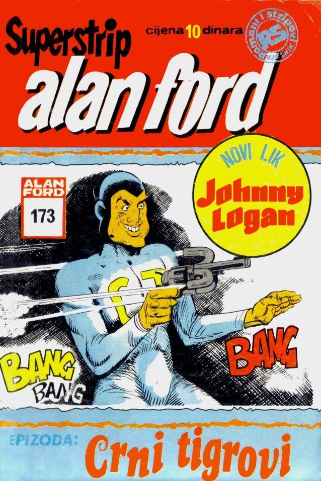 Dilan Poster Bermanfaat Johnny Logan Ss173 Crni Tigrovi