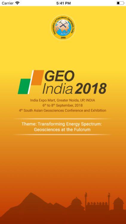 Exhibition Poster Menarik Geo India 2018 by Mandeep Singh