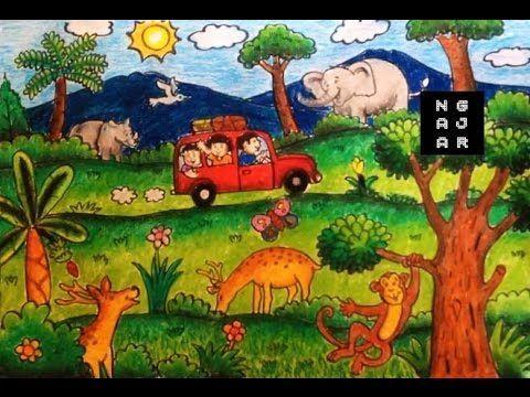 muat turun himpunan contoh gambar gajah mewarna yang hebat dan boleh