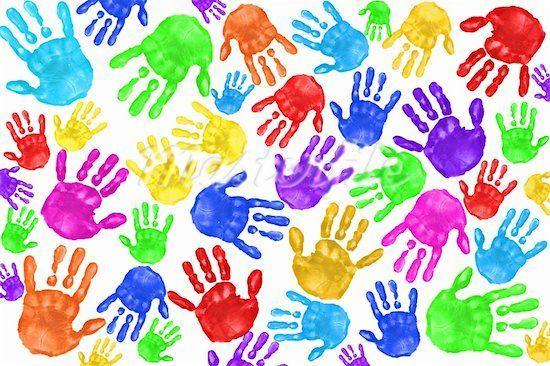 kertas lukisan lembaran kerja mewarna prasekolah baik handprint capan tangan genius kids zone
