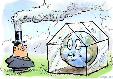 pengendalian pemanasan global jangan cemari udara