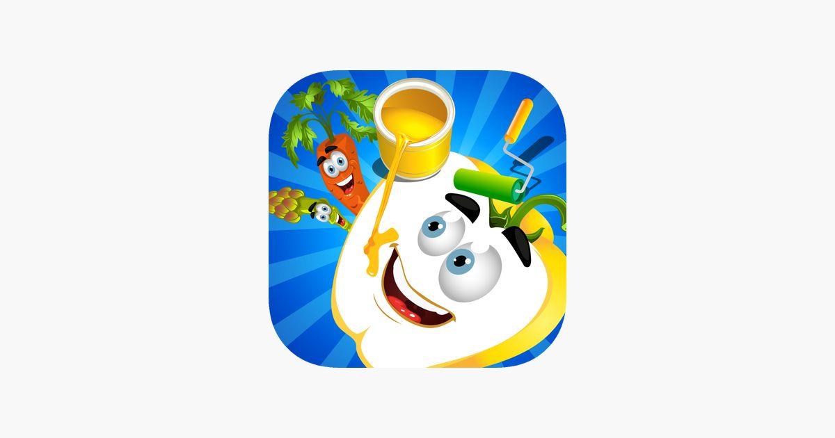 buku mewarna buah buahan dan sayur sayuran untuk kanak kanak kecil dan kanak kanak ketahui dengan gambar di app store