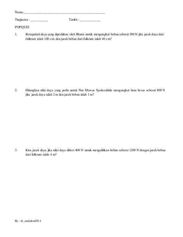 Kuiz Sains Tingkatan 1 Menarik Senarai Terbesar Kuiz Upsr Sains Yang Bernilai Dan Boleh Di Muat
